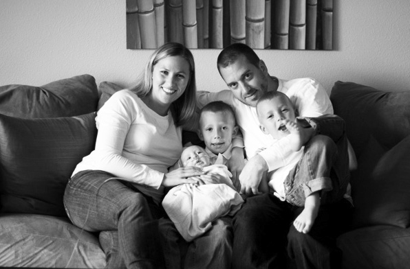 family-bw